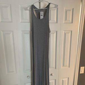 Splendid Gray Ribbed dress